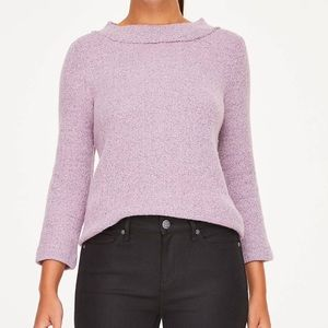 LOFT | cozy funnel neck sweater